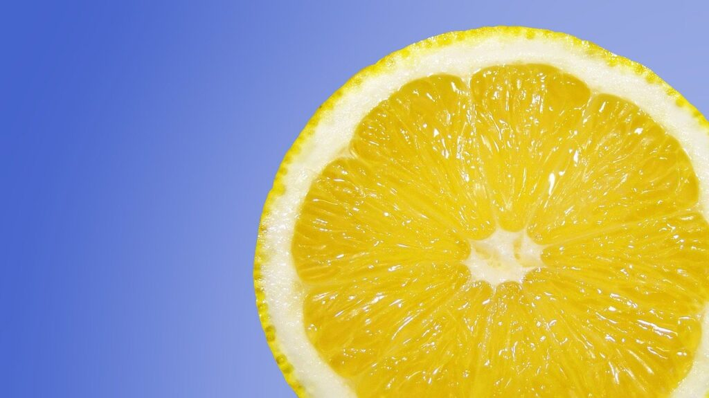 perasan lemon